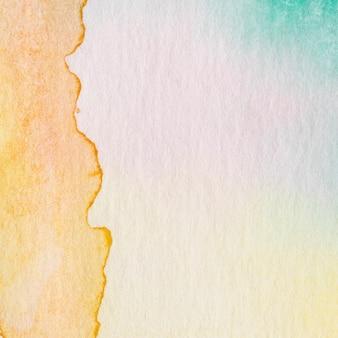 Papierowa plama streszczenie tło atrament akwarela