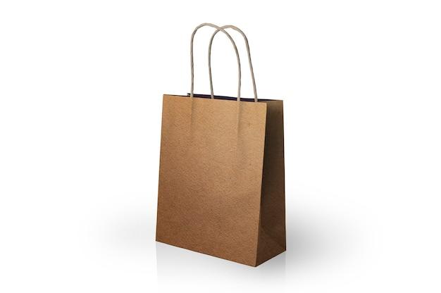 Papierowa torba z pasami