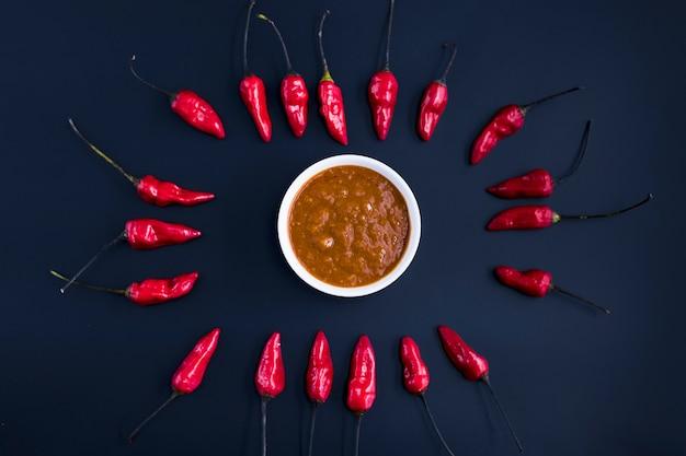 Papryka chili i chutney