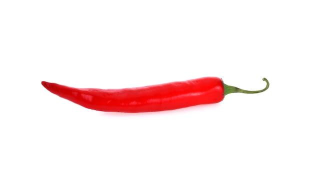Papryka chili na białym tle