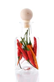 Papryka w szklanej butelce