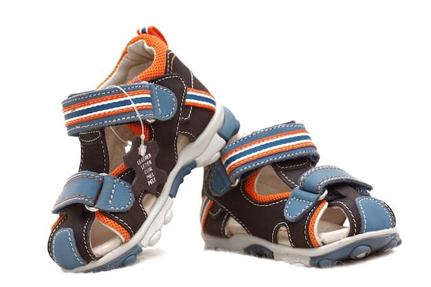 Para dziecięcych sandałów