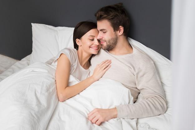 Para ma moment czułości