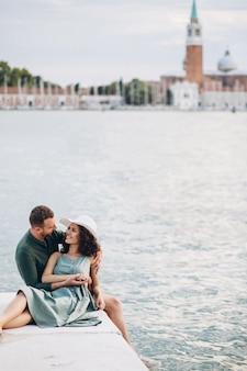 Para Na Miesiąc Miodowy W Wenecji Darmowe Zdjęcia