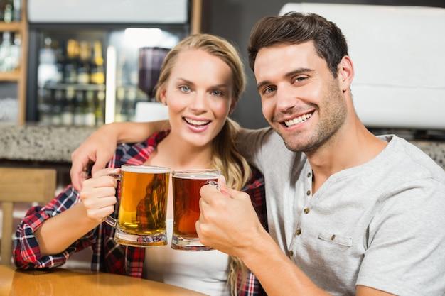 Para opiekania z piwami