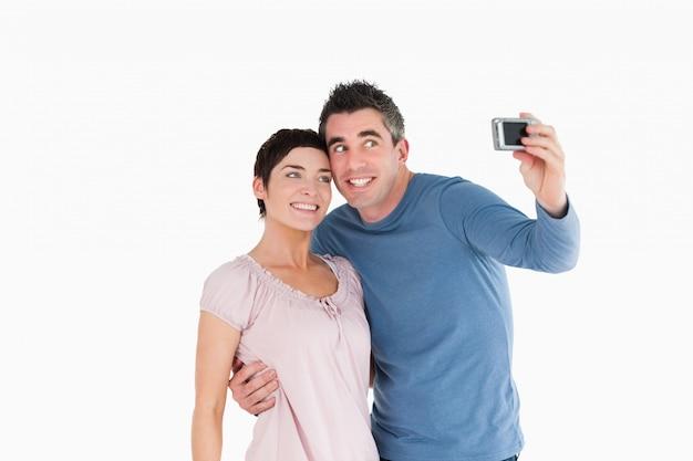 Para robi sobie zdjęcie