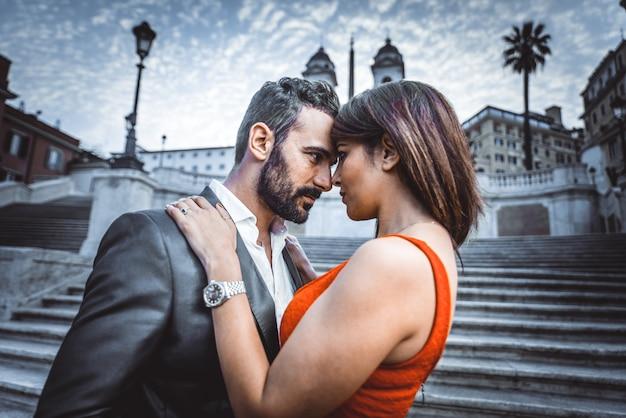 Para w rzymie