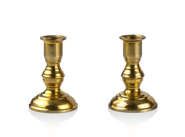 Para złotych świeczników