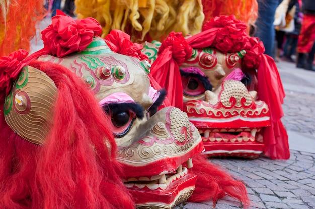 Parada chińskiego nowego roku w mediolanie
