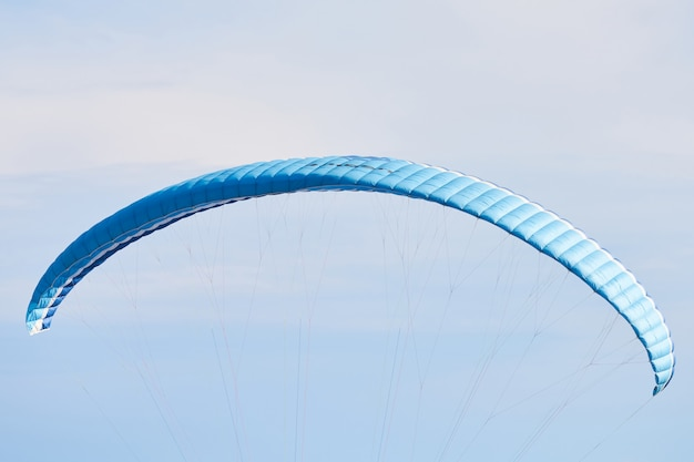Paralotniarstwo i niebo