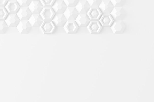 Parametryczna tekstura cyfrowa oparta na siatce sześciokątnej o różnej objętości i wzorze wewnętrznym