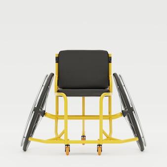 Paraolimpijski sprzęt sportowy na wózkach inwalidzkich