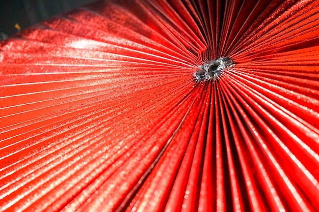 Parasolka papierowa radius asia złożona we wzór z hilightem