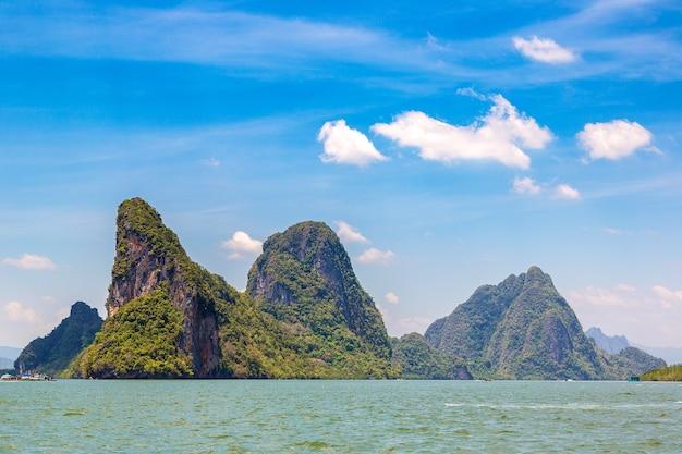 Park narodowy ao phang nga w tajlandii