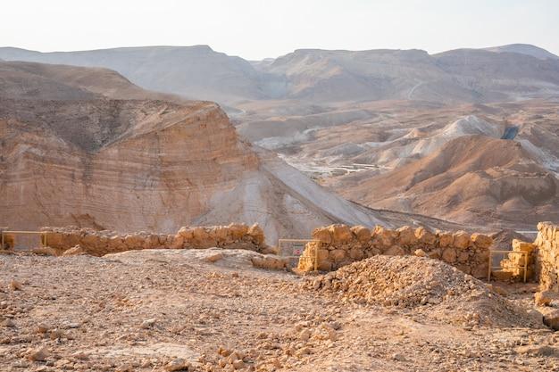 Park narodowy masada, region morza martwego, izrael