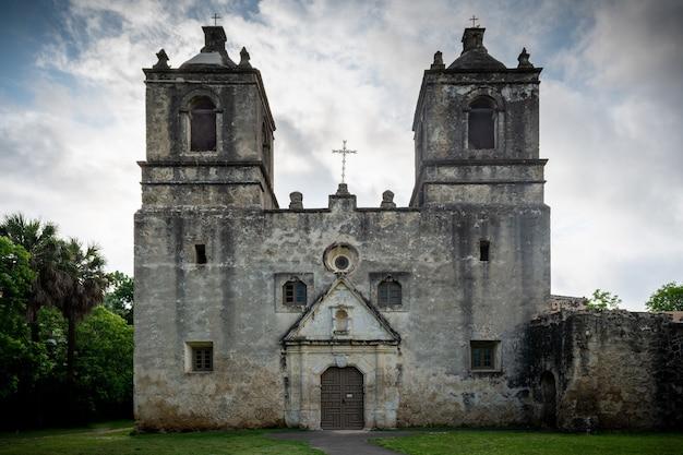 Park narodowy mission concepcion w san antonio w teksasie
