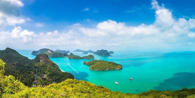 Park narodowy mu ko ang thong, tajlandia