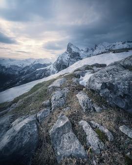 Park narodowy picos de europa ze szczytu fuente de