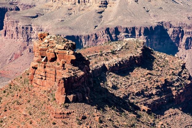 Park narodowy wielkiego kanionu, west rim