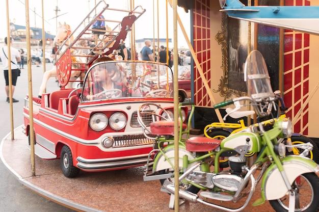 Park rozrywki na dzień dla dzieci