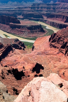 Park stanowy dead horse point, usa