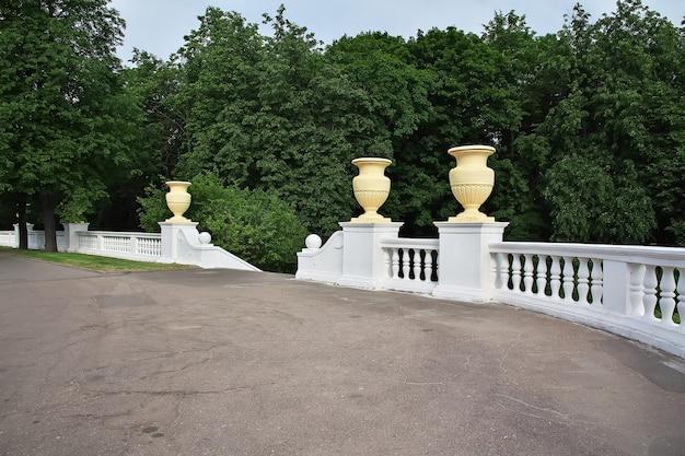 Park w mińsku na białorusi