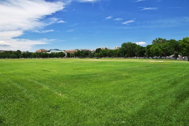 Park w waszyngtonie, stany zjednoczone