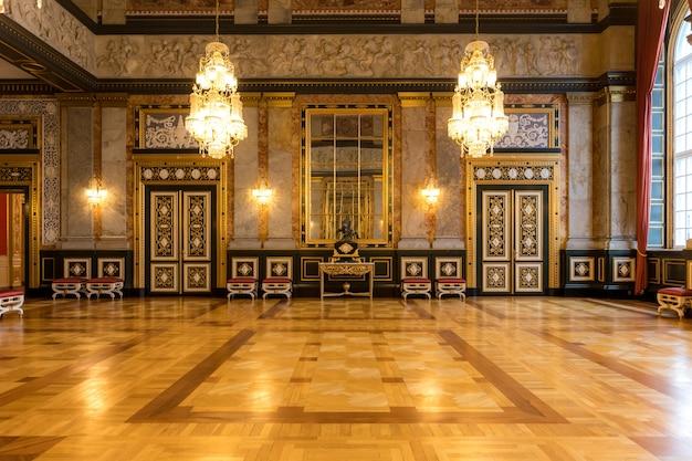 Parlament christiansborg pałac