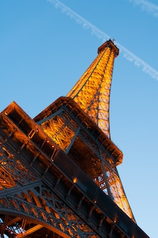 Paryż, francja - wieża eiffla
