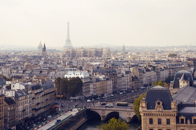 Paryż z góry