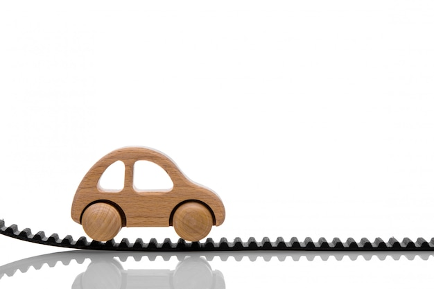 Pasek rozrządu z samochodzikiem