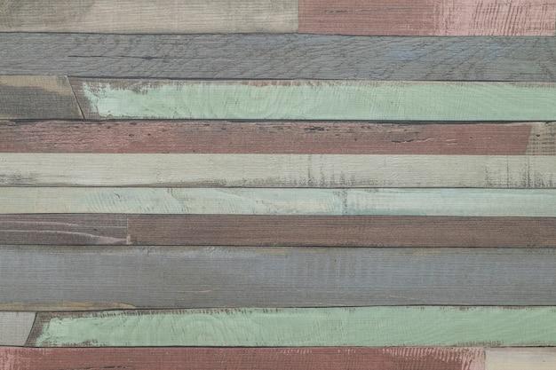 Pasiasta deseniowa stara drewniana ściana