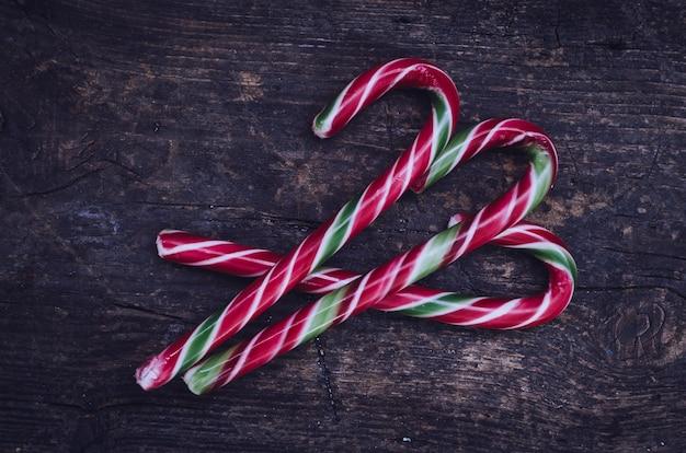 Paski świątecznych cukierków