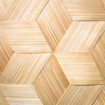 Paski wykonane z tkania bambusa.