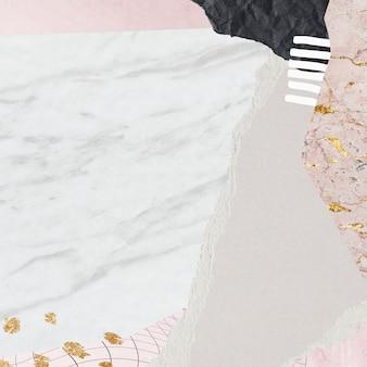 Pastelowa ilustracja społeczna neo memphis
