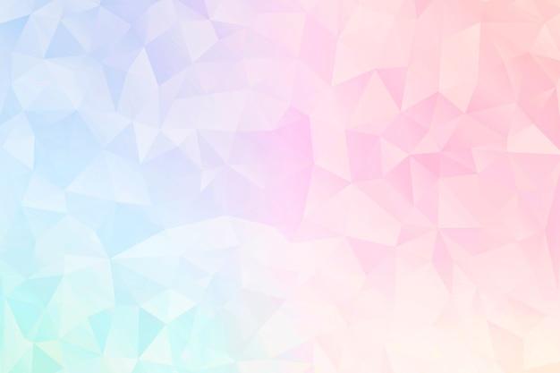 Pastelowe geometryczne wzorzyste tło