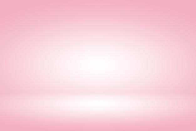 Pastelowe gradientowe różowe tło wyświetlacza produktu w tle