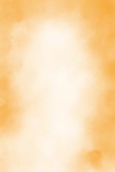 Pastelowe pomarańczowe tło akwarela