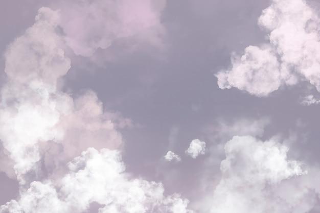 Pastelowe tło z estetycznym różowym niebem