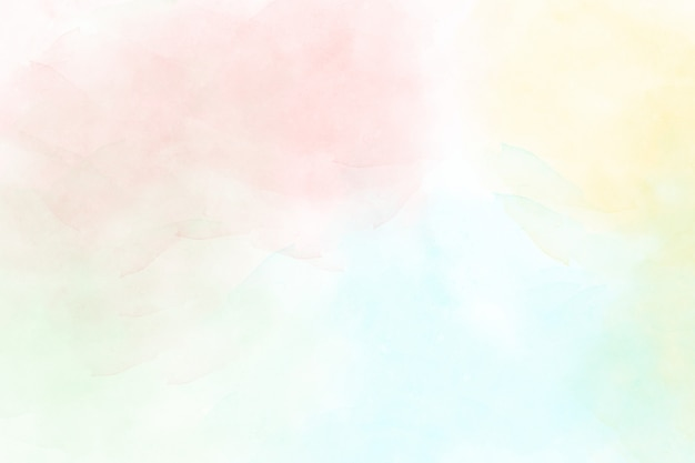 Pastelowy akwareli abstrakta tło