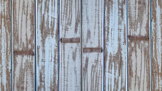 Pastelowy drewniany drewniany biały z deski tekstury ściany tła uczuciem stary i piękny