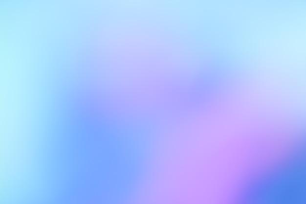 Pastelowy odcień fioletowy różowy niebieski gradient nieostre streszczenie zdjęcie gładkie linie kolor
