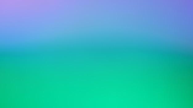 Pastelowy zielony niebieski i fioletowy kolor tłastreszczenie niewyraźne tło gradientowe szablon transparentu