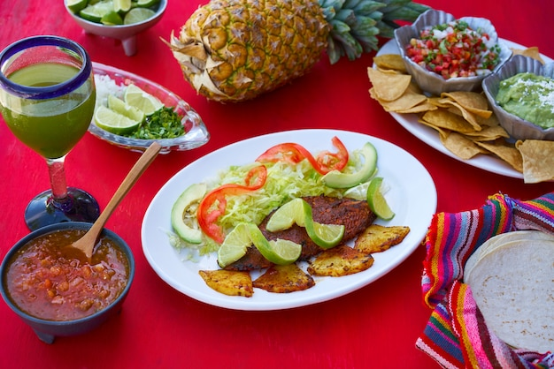 Pastorowa recepta ryb z meksyku majów