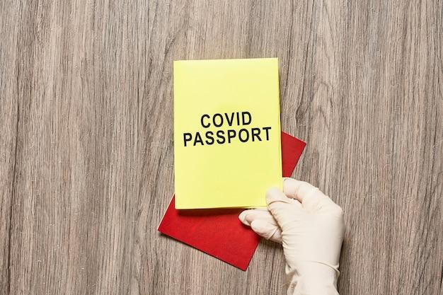 Paszport odpornościowy na krucyfiks, szczepionka id paszporty przeciw krowim, nowe paszporty podróżne ze szczepieniami lub