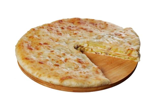 Pasztety osetyjskie z serem, ziemniakami, ziołami, twarogiem, wiśniami, wołowiną, grzybami, izolat