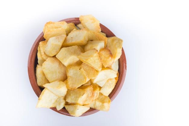 Patatas bravas (typowo hiszpański)