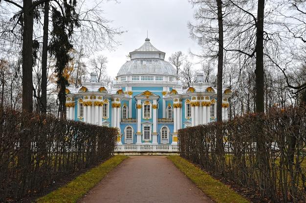 Pawilon ermitaż w parku katarzyny