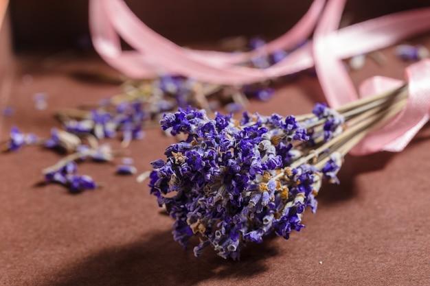 Pęczek kwiatów lawendy