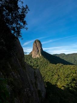 Pedra do bau rock mountain w brazylii